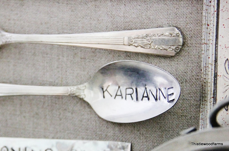 stamped spoon name
