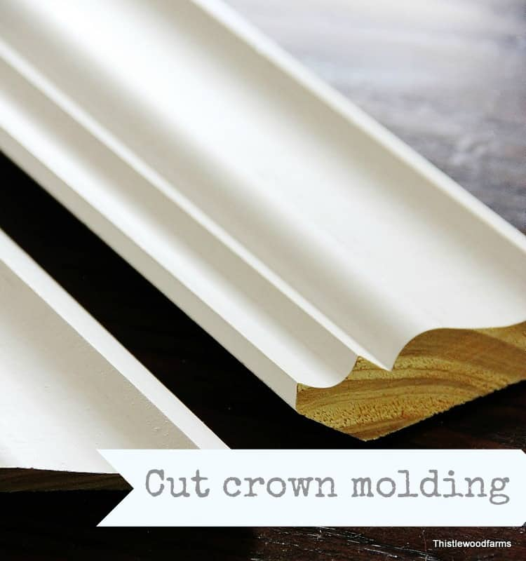 Cut Crown Molding