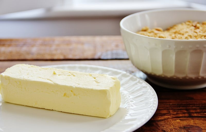 Butter and Graham Crackers