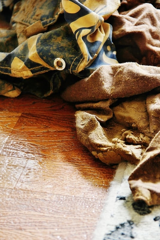 Muddy Clothes