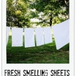 Fresh Smelling Sheets