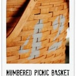 Numbered Picnic Basket