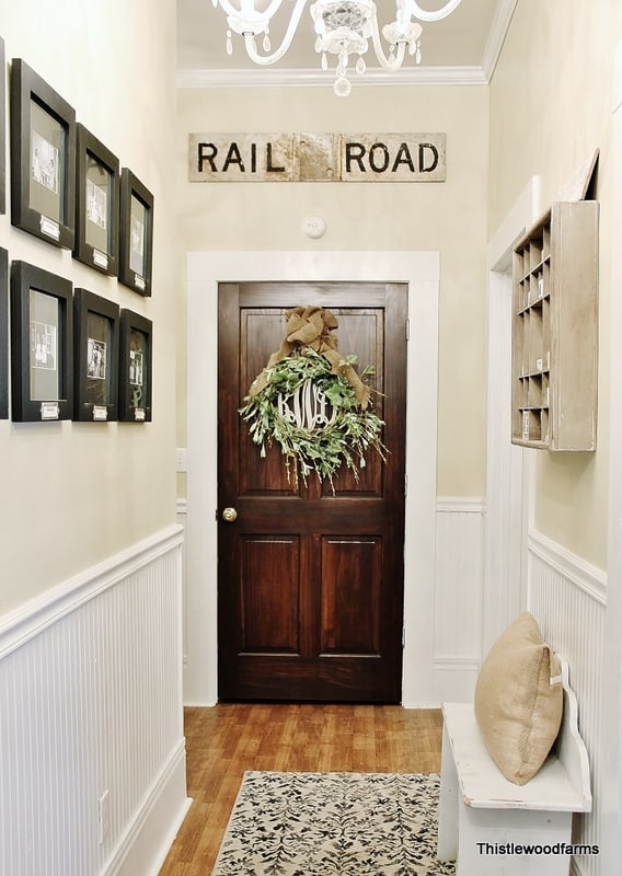 Railroad Sign Hallway