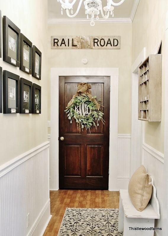 Railroad Sign Hallway