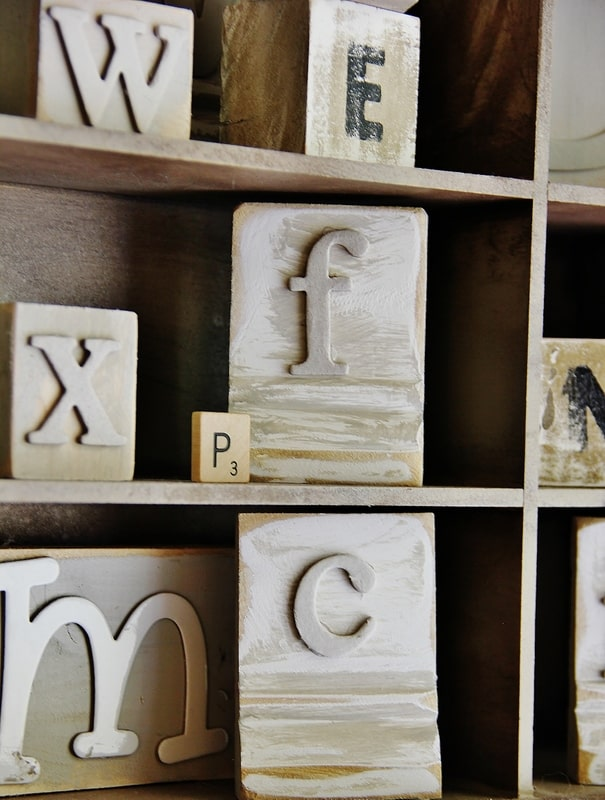 How to make your own wood block letters