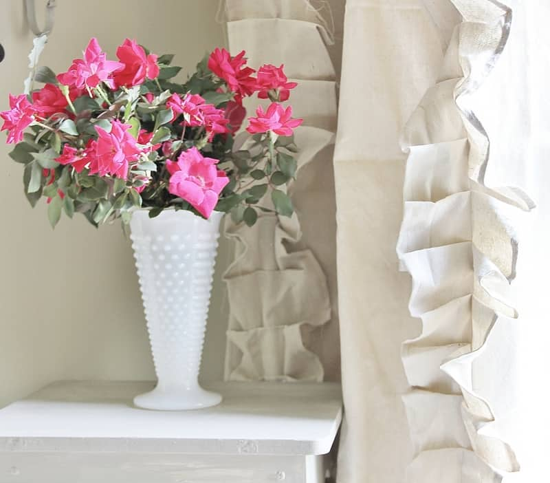 These gorgeous curtains are so easy to create on your own