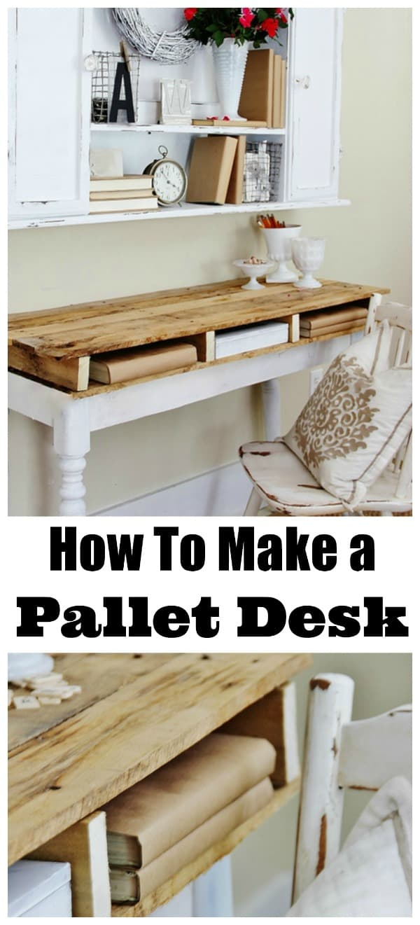 how-to-make-a-pallet-desk