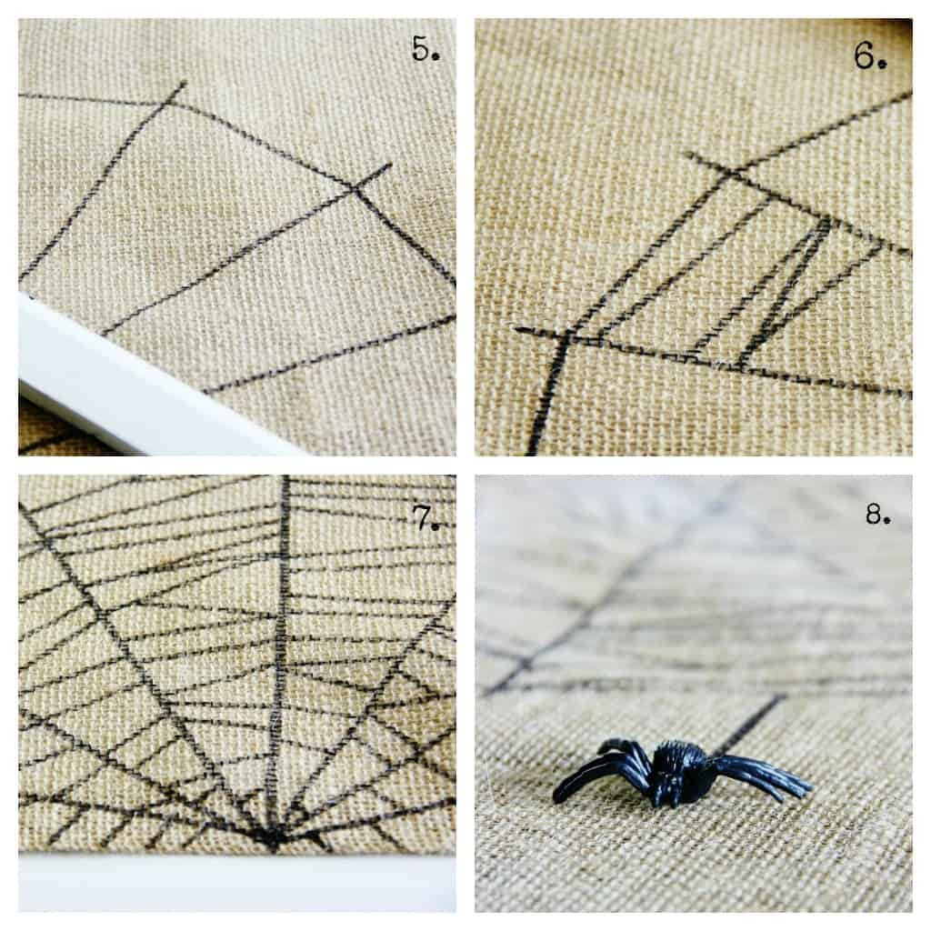 burlap-spider-web-table-runner-project