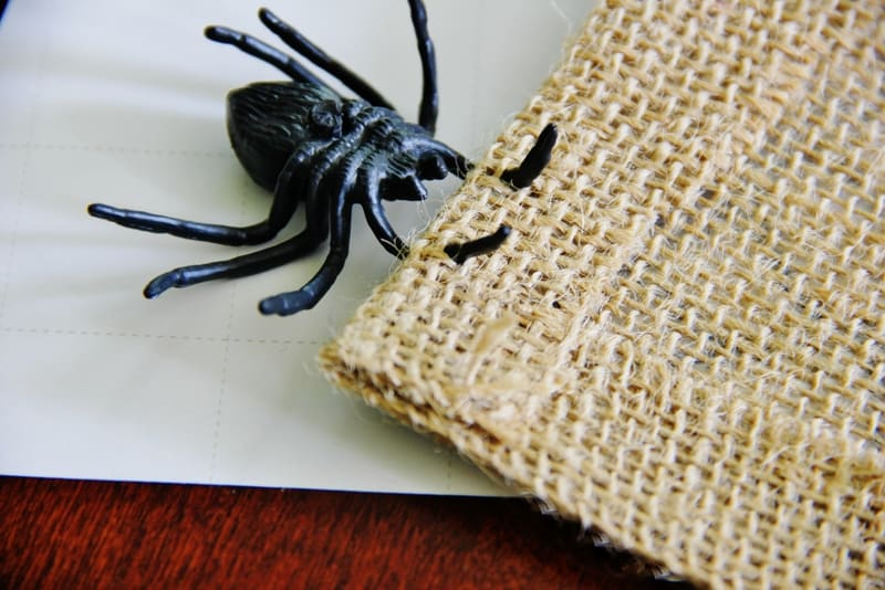 burlap-spider-web-table-runner-spider