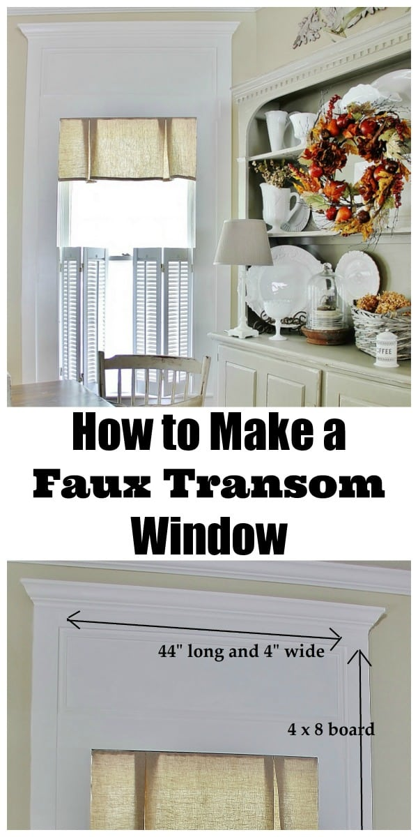 how-to-make-a-faux-transom-window