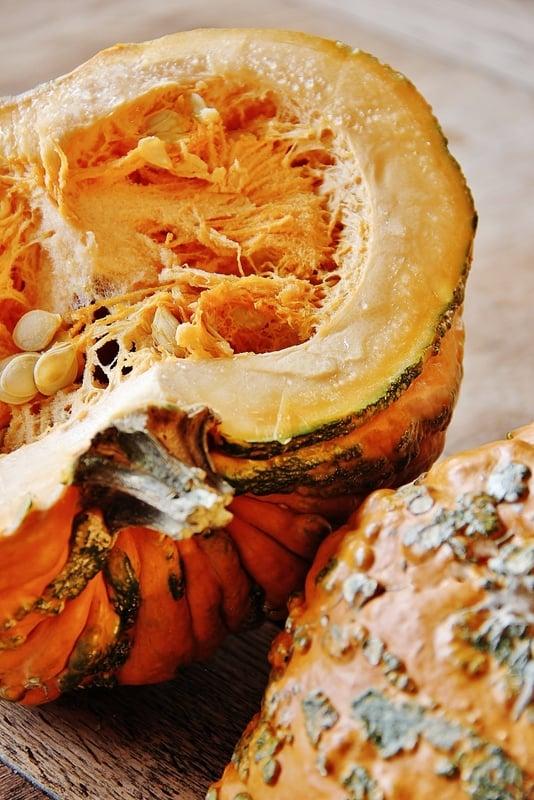 Cut Pumpkin