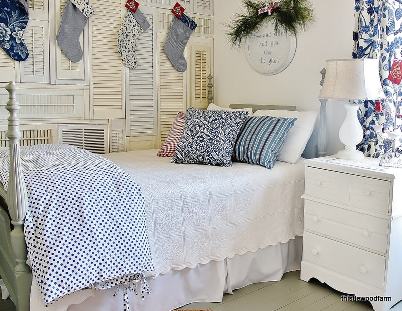 Guest Bedroom Christmas