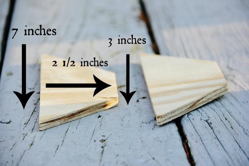 Side Pieces Measurement