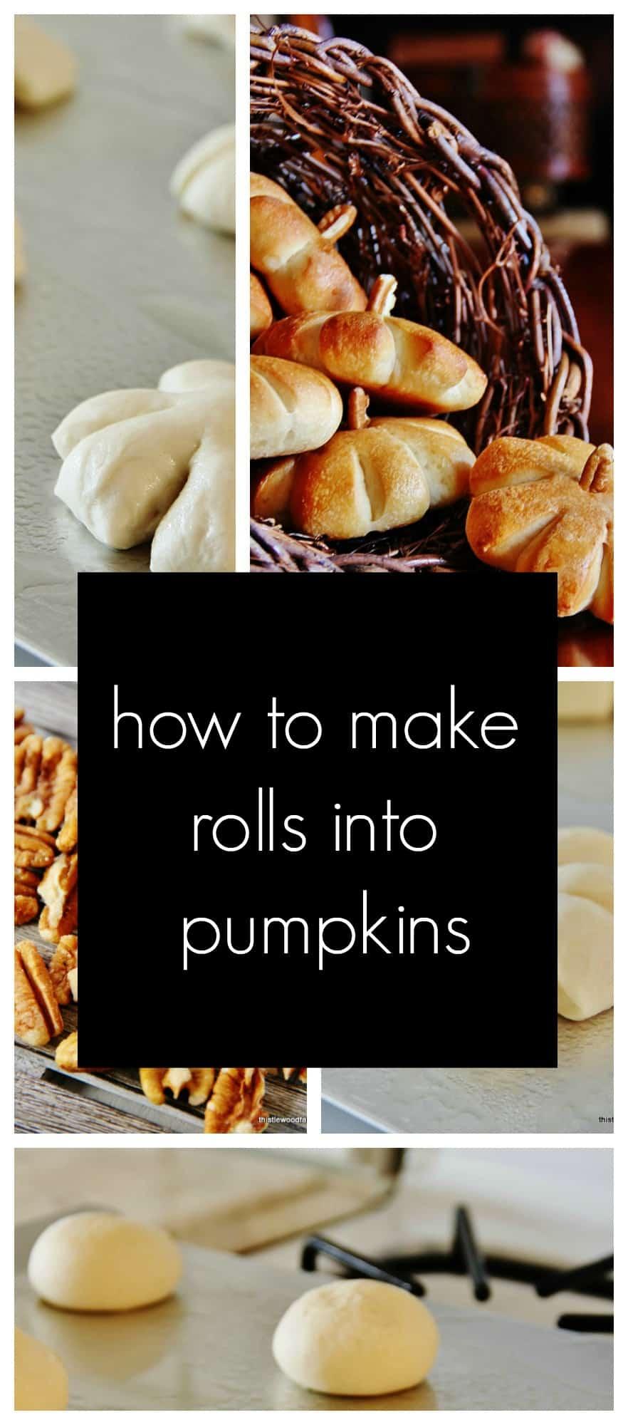 pumpkin rolls promo graphic