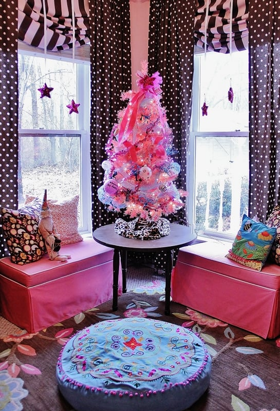 Pink and Glitter Christmas