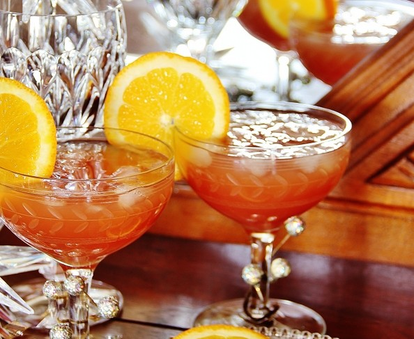 Cranberry Sparkler Mocktail