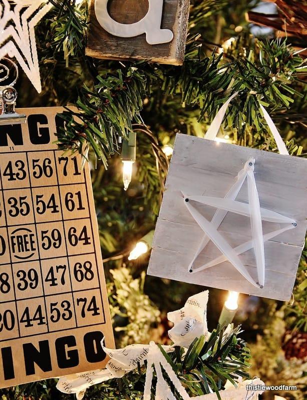 Star Ornament Tree