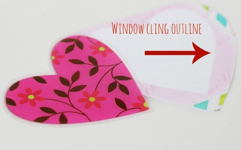 Valentines Window Cling