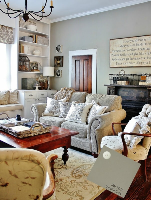 Family Room Mindful Gray