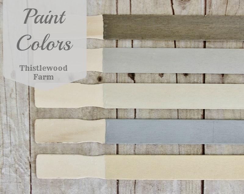 Paint Colors Label