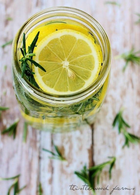 Lemon citrus room scent