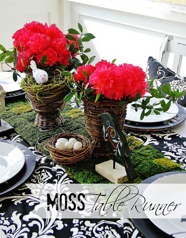Moss-Table-Runner-Label