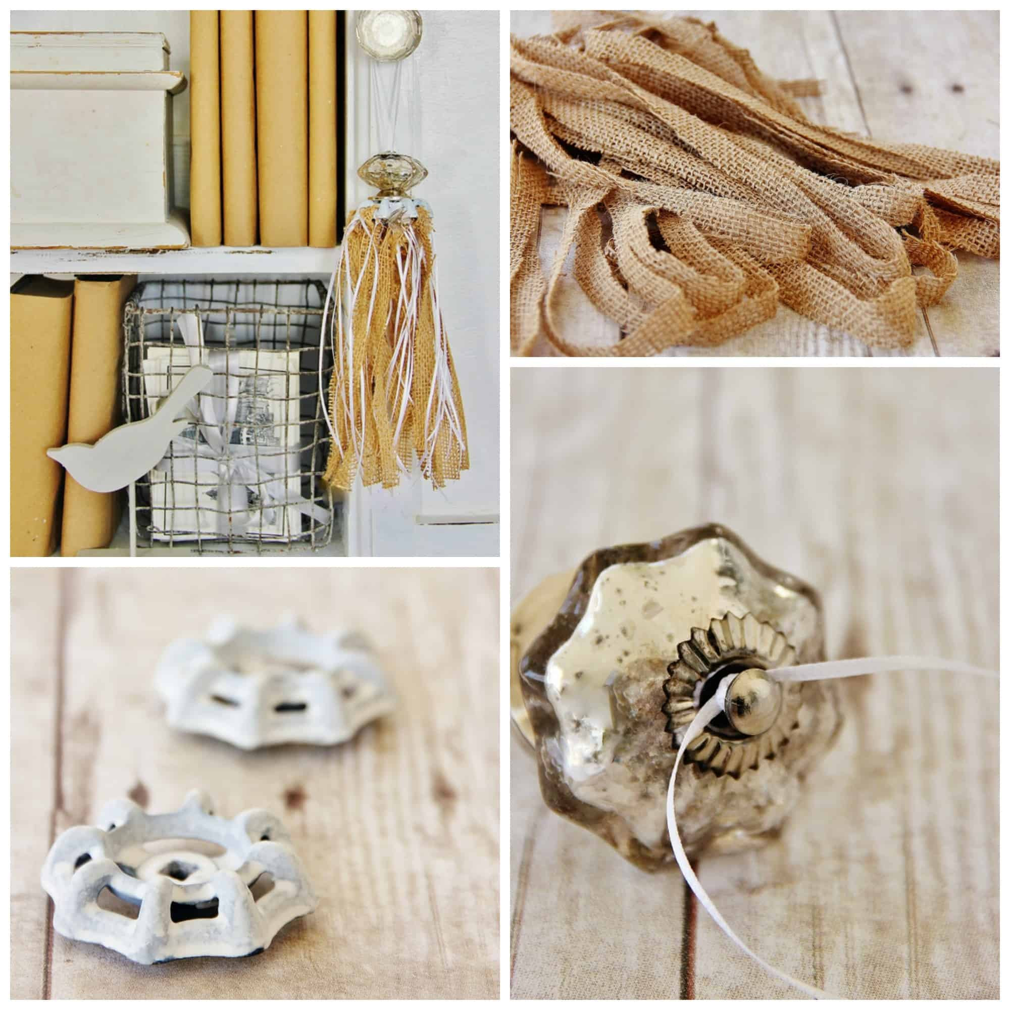 Five easy burlap projects thistlewood farm for Burlap crafts
