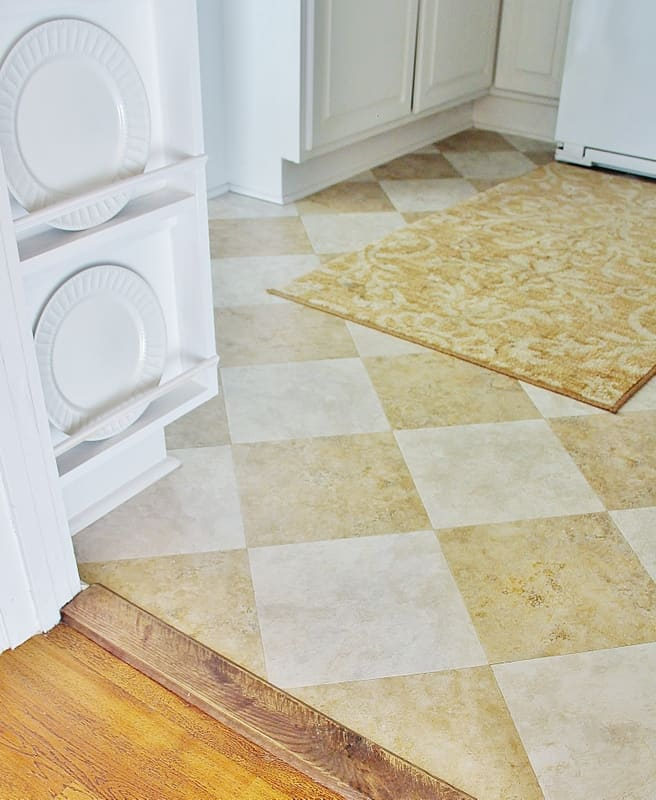 The Butlers Pantry Flooring For Under 100 Thistlewood Farm