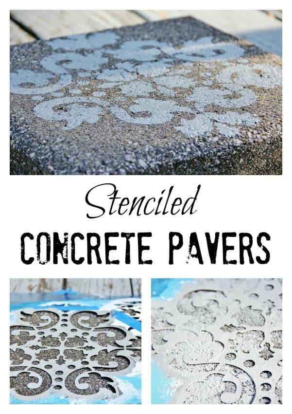 Stenciled-Concrete-Pavers