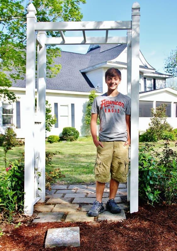 Many teenage boys like this enjoy exploring the outside and walking around.