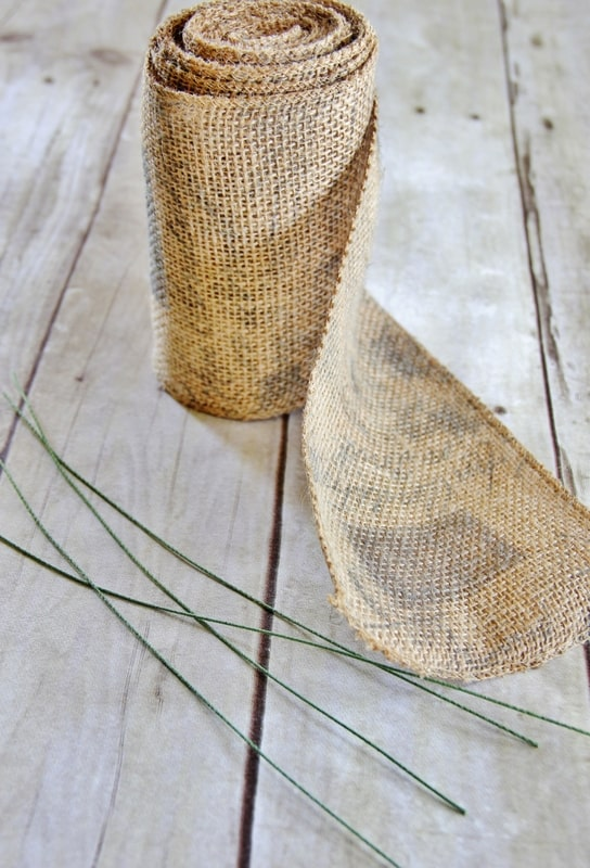 How to make a burlap bow thistlewood farm for What to make with burlap