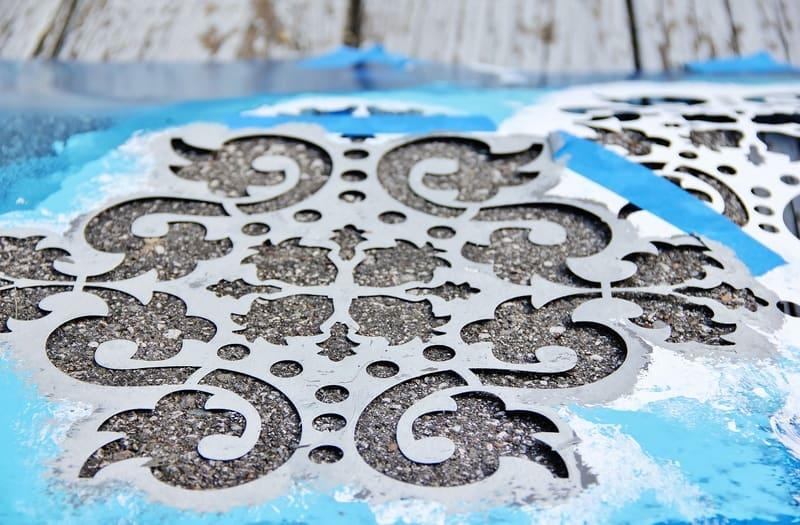 damask-stencil