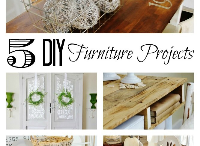 5 DIY Furniture Projects