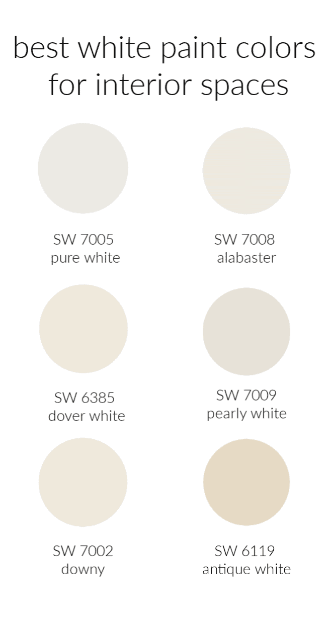 Six Of The Best White Paint Colors Thistlewood Farm,Small Closet Organization Hacks