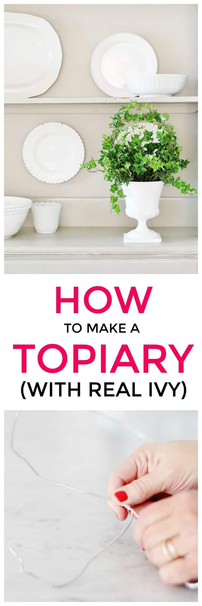 How To Make Your Own Topiary Thistlewood Farms