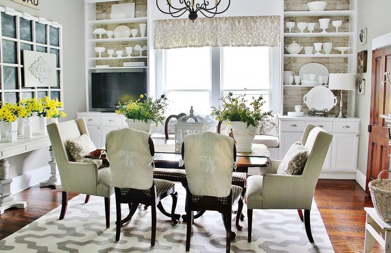 Family room decorating ideas thistlewood farm - How to decorate a dining room ...