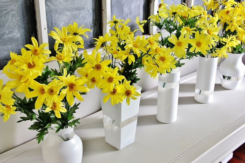 white-vases-with-flowers