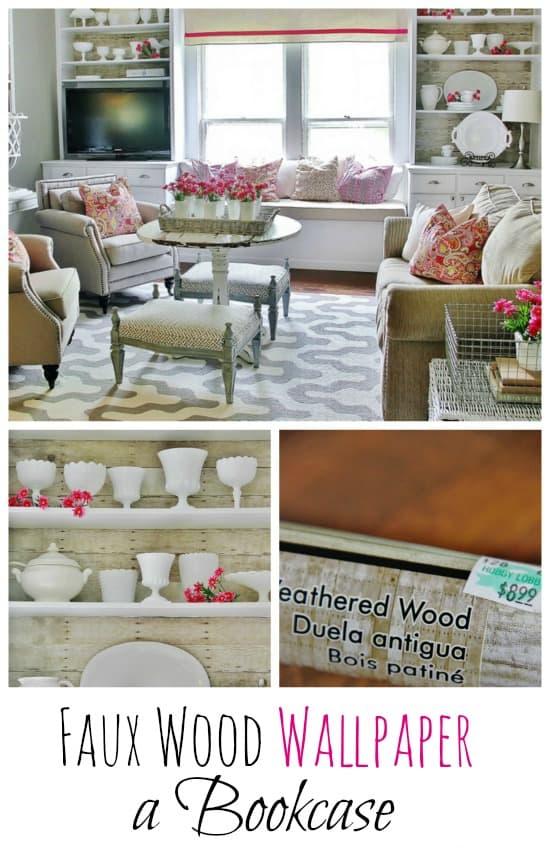 faux-wood-wallpaper-bookcase