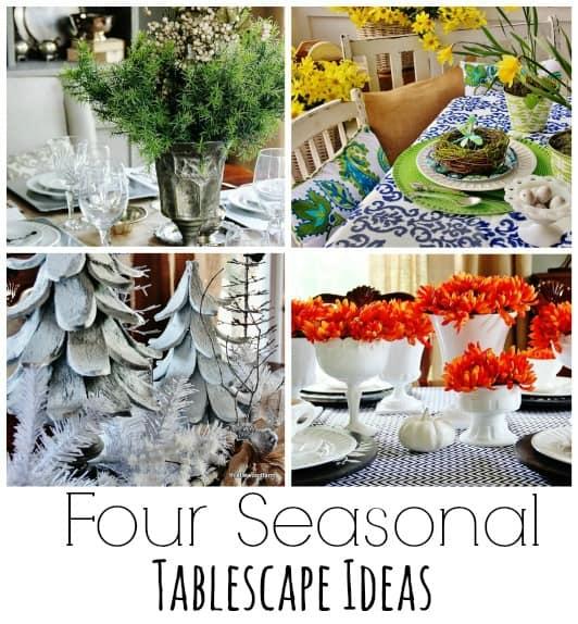 four seasonal tablescape ideas - thistlewood farm