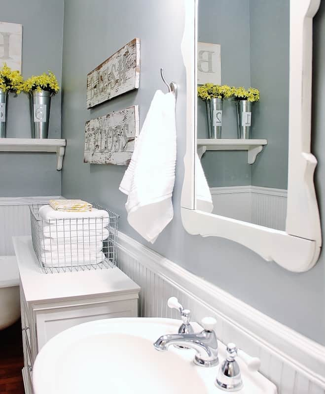 Farmhouse Bathroom Decorating Ideas Thistlewood Farm