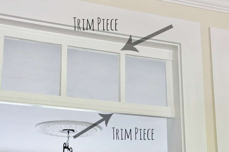 Diy Transom Window Thistlewood Farm