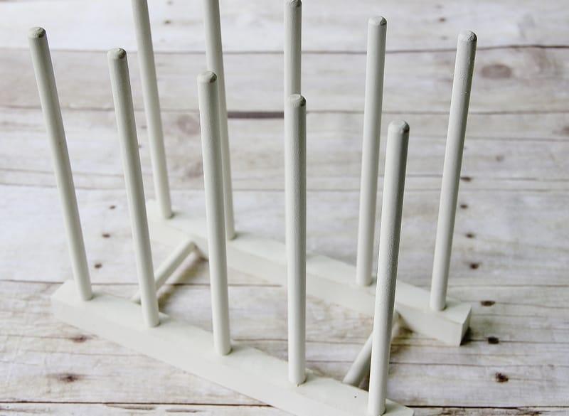 Simple Plate Display Rack Thistlewood Farm