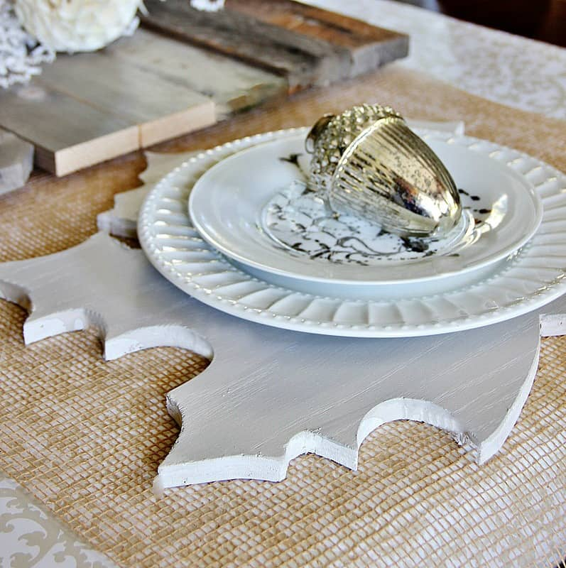 Fall inspired place setting