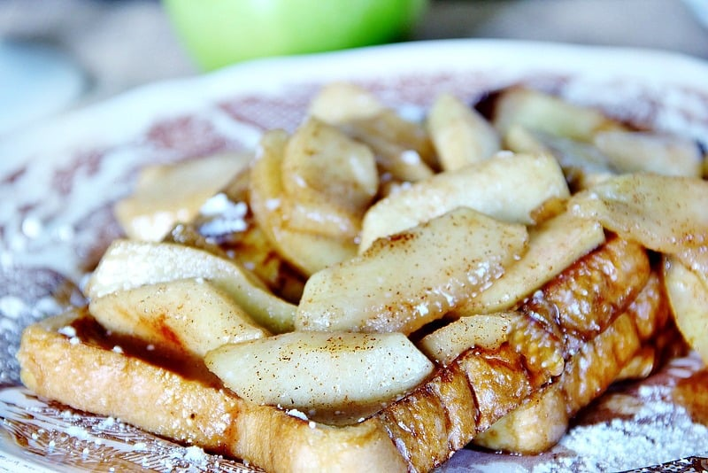 Vanilla added to your french toast adds tons of goodness to the bread.
