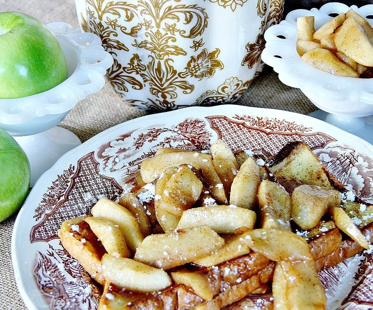 This decadent french toast recipe is loaded with tasty spices and flavors.