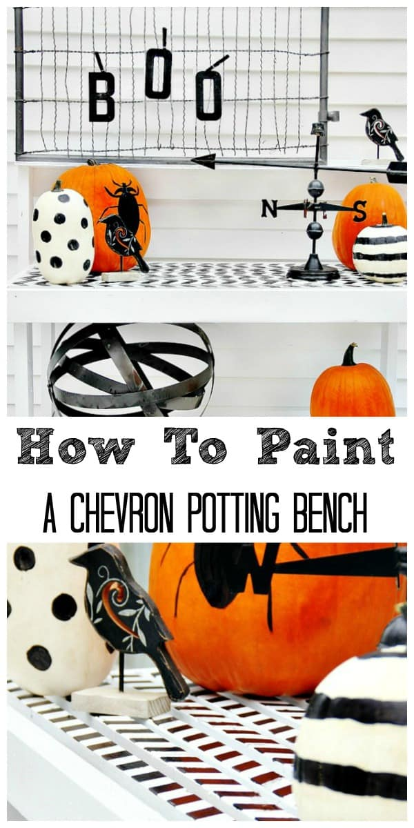 how-to-paint-chevron-potting-bench-diy-how-to