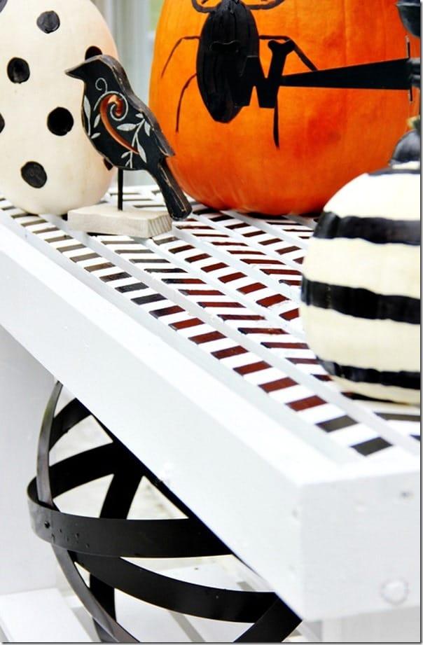 how-to-paint-chevron-potting-bench-diy