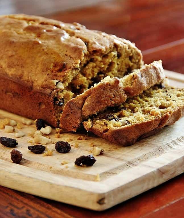 Walnut Raisin Pumpkin Bread Recipe