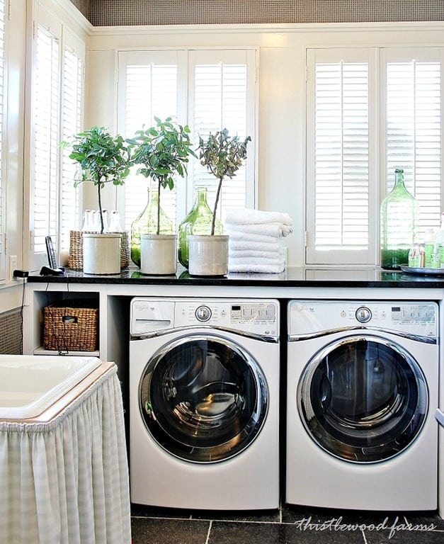 20 decorating ideas from the southern living idea house for How to add a laundry room to your house