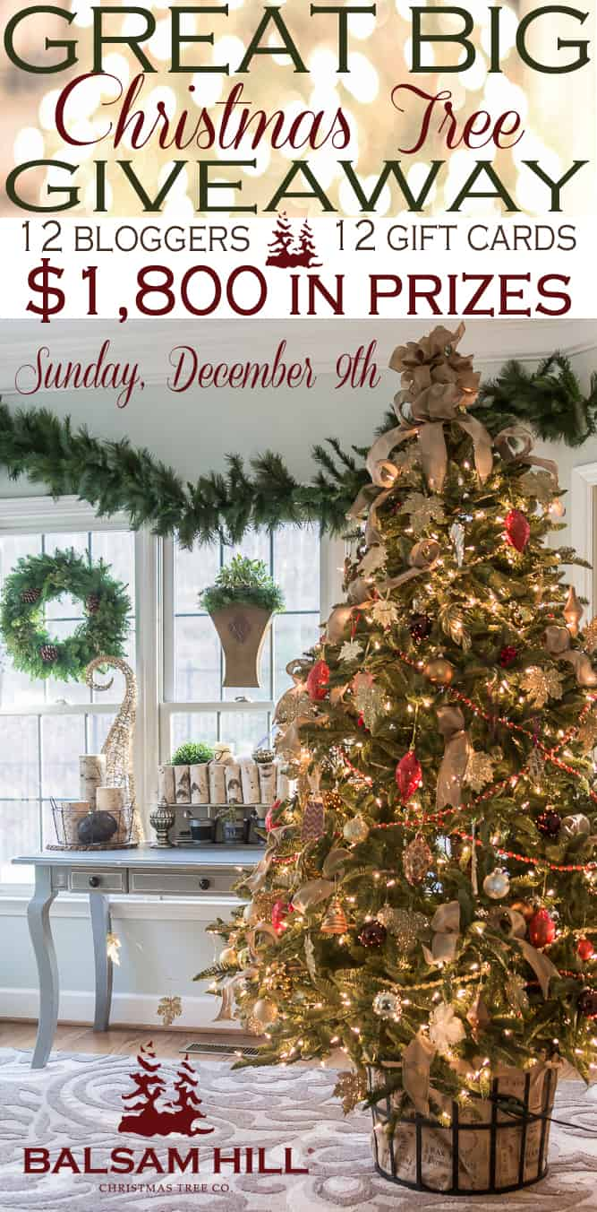 Balsam Hill Christmas Tree Giveaway 12 Creative Christmas Tree Ideas and